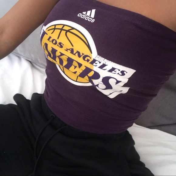 2ab7eddef6 adidas Other - Los Angeles Lakers Tube Top